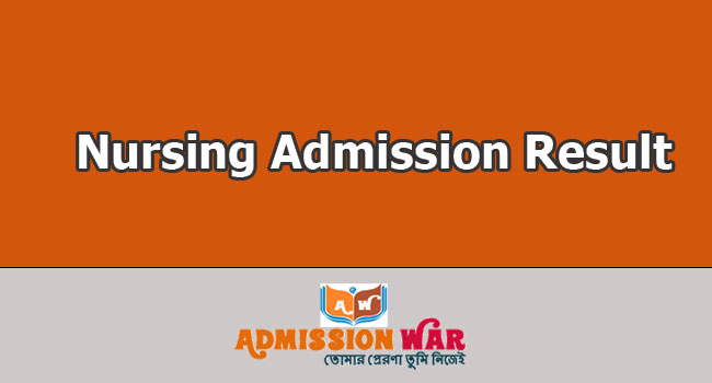 Nursing Admission Result