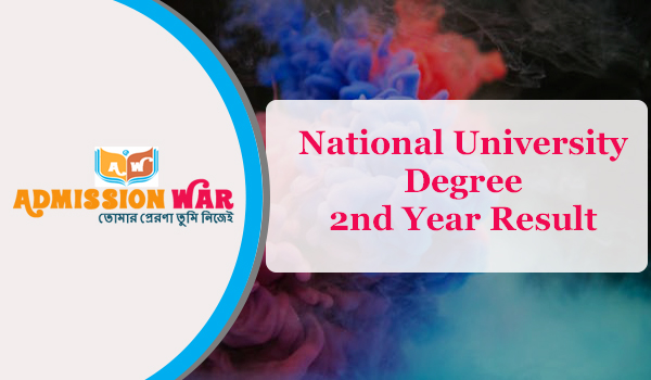 NU Degree 2nd Year exam Result